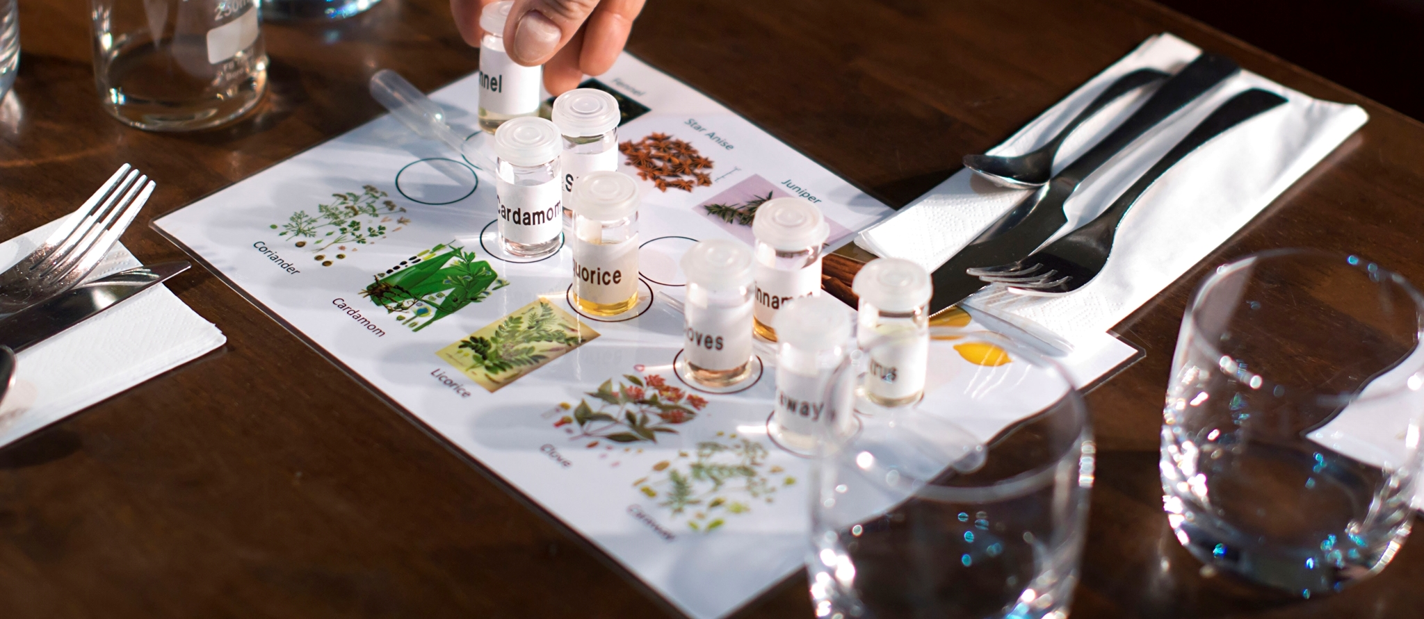 Photograph showing Ginomics botanicals